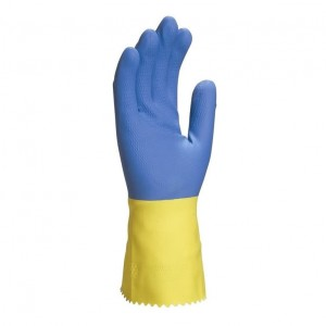 Rękawice lateksowe DUOCOLOR 330
