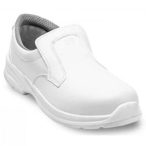 Półbuty białe Sanitary 3426 S2 PANDA