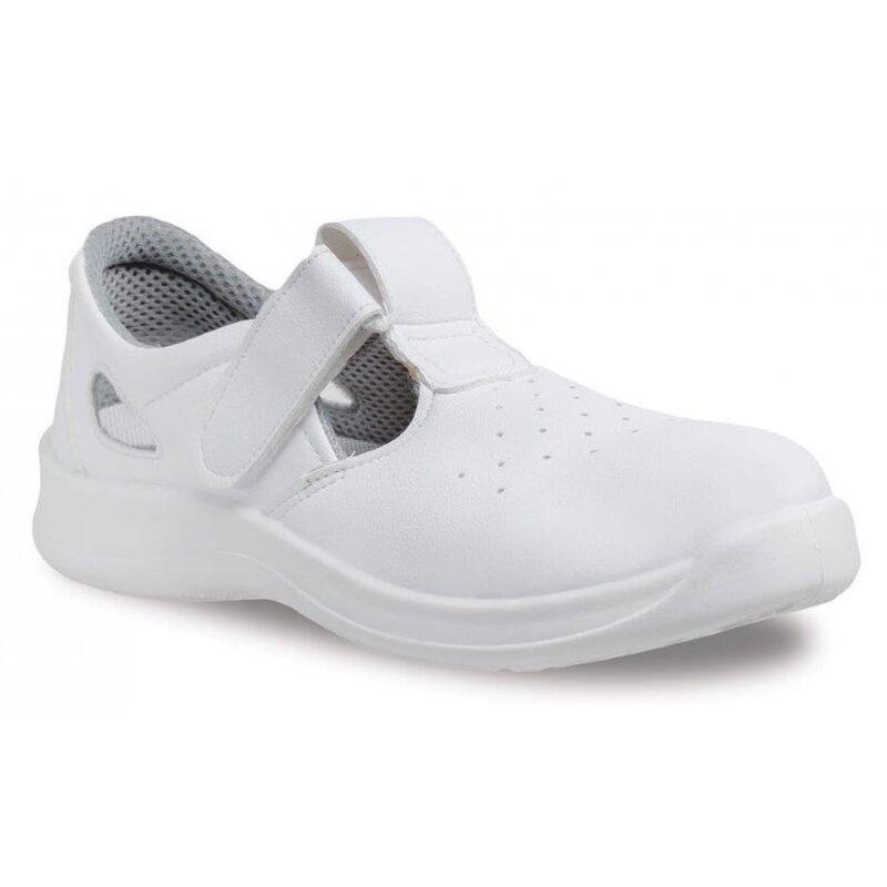 Sandały bezpieczne WHITE W07 S1 SRC