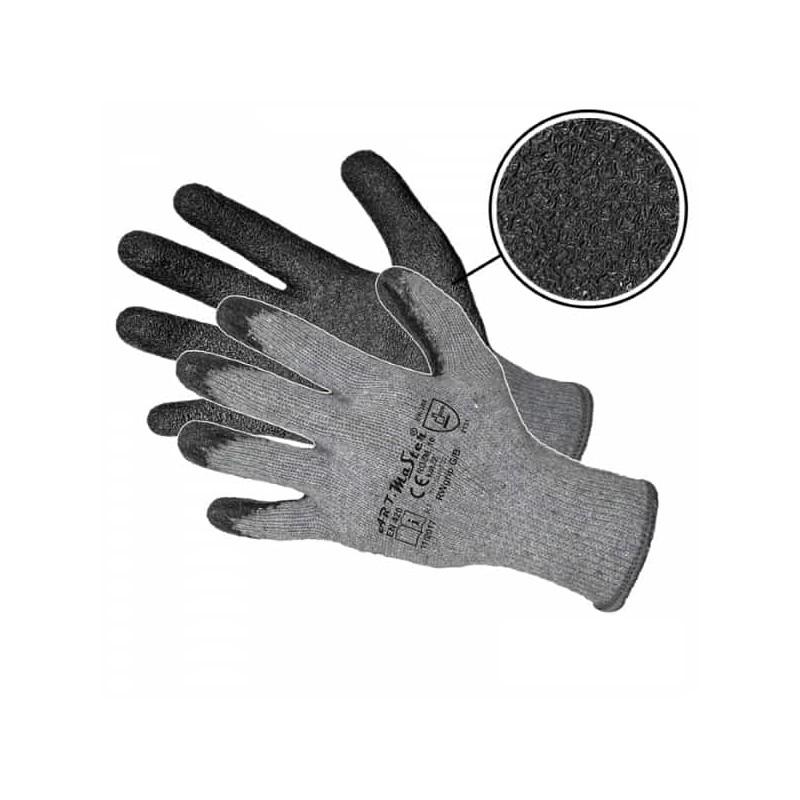 Rękawice bawełniane powlekane lateksem RWGRIP G/B KAT.2