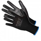 Rękawice nylonowe powlekane poliuretanem czarne