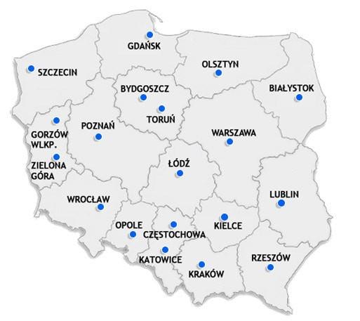 Miasta - Nasz sklep BHP w miastach Polski